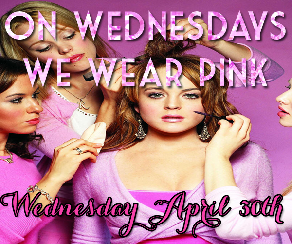 On Wednesdays We Wear Pink Link-Up