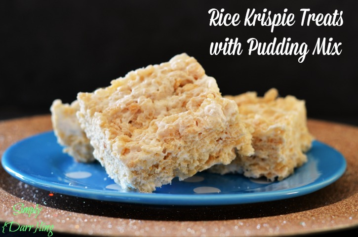 Rice Krispies with Pudding Mix