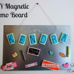 Easy Magnetic Memo Board