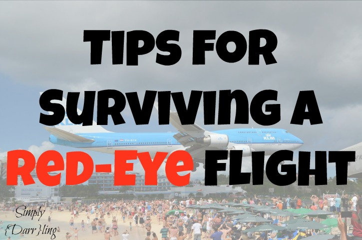 tips for surviving a red-eye flight