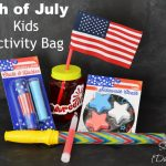 4th of July Kids Activity Bag