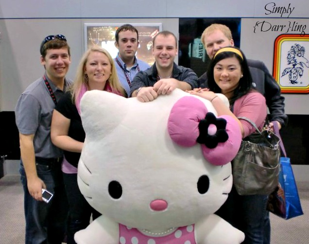 friends and hello kitty