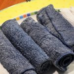Frozen Eucalyptus Towels