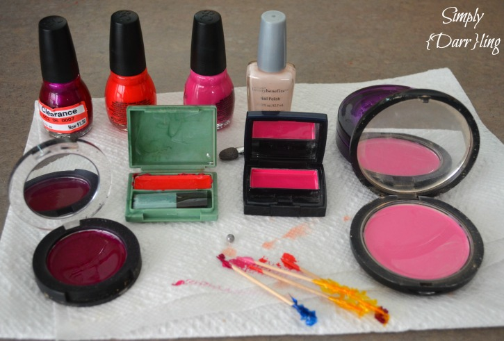 DIY Kids play makeup