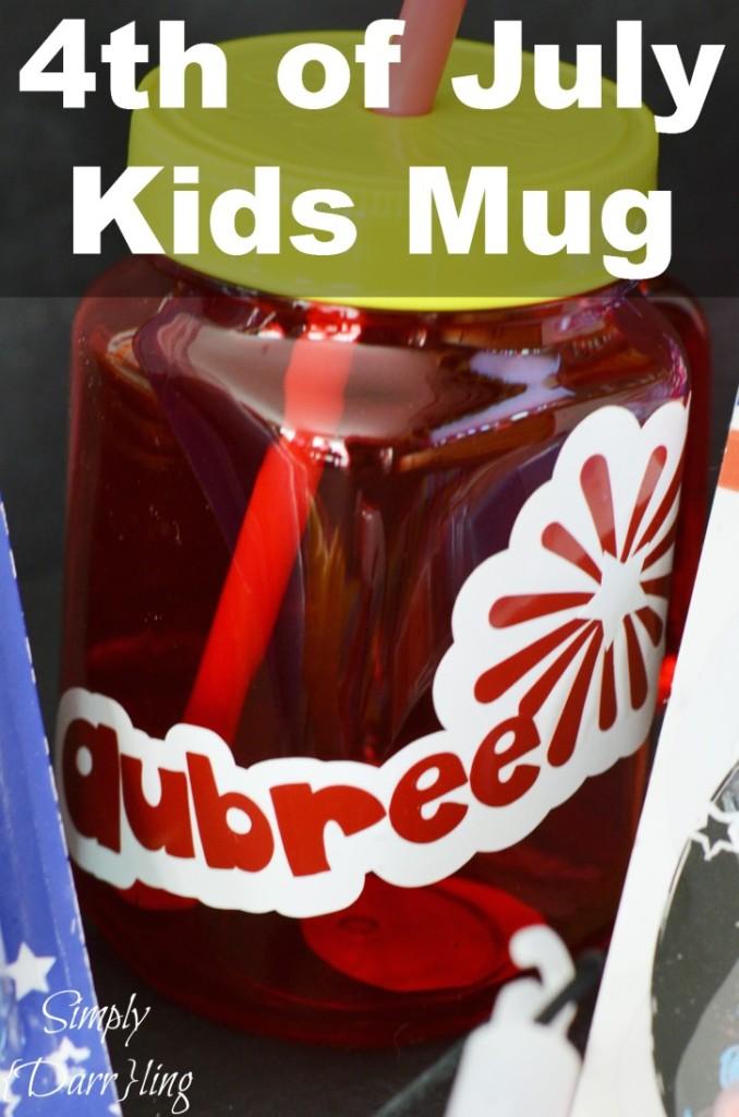 4th of July Kids Mug