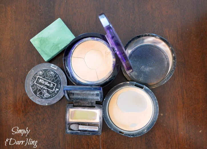 Old Makeup containers