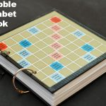 Scrabble Alphabet Book