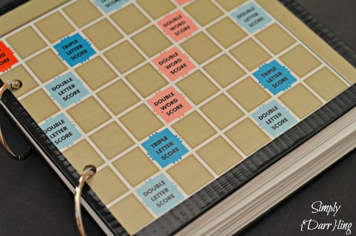Scrabble Book