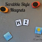 Scrabble Alphabet Magnets