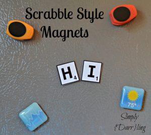 Scrabble Alphabet Magnets