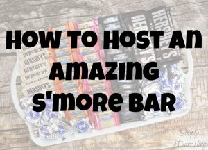 How to Host an Amazing S'More Bar