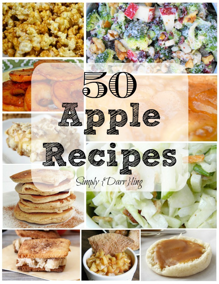 50 Apple Recipes