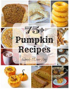 75 Delicious Pumpkin Recipes
