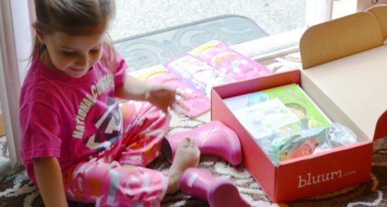 Bluum Box – a box for kids from Womb through Preschool