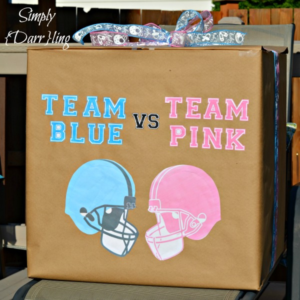 Diy Gender Reveal Box Simply Darr Ling