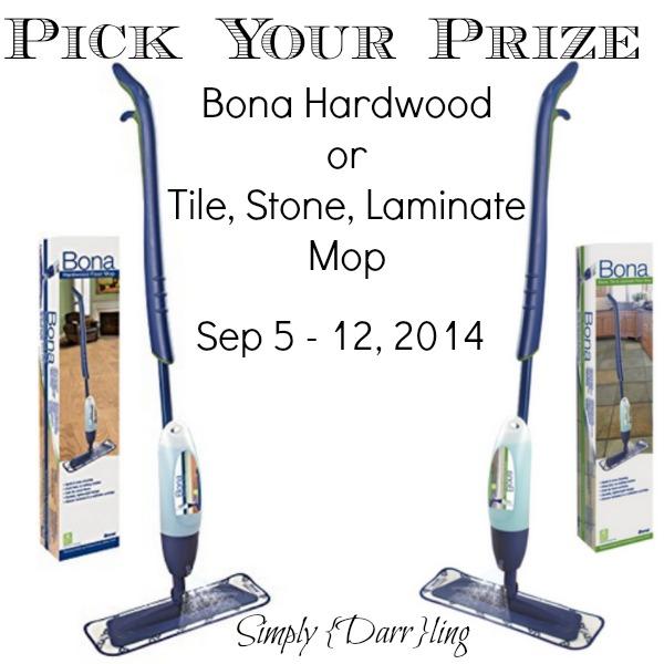 Bona Mop Prize