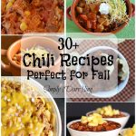30+ Chili Recipes