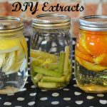 DIY Orange, Lemongrass and Lemon Extracts