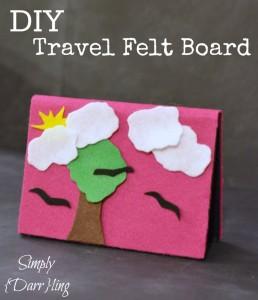 DIY Travel Felt Board