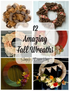 12 Fall Wreaths