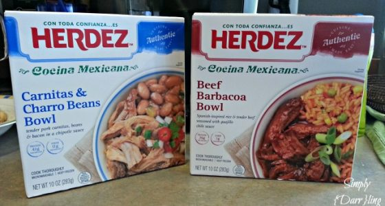 Easy Lunches with HERDEZ® Cocina Mexicana Frozen Bowls