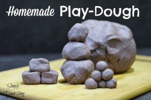 homemade play-dough play-doh