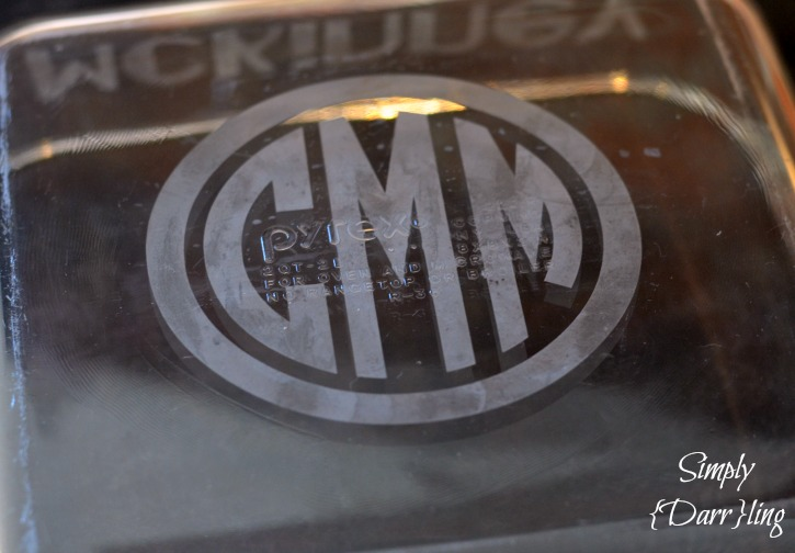 Etched Monogram
