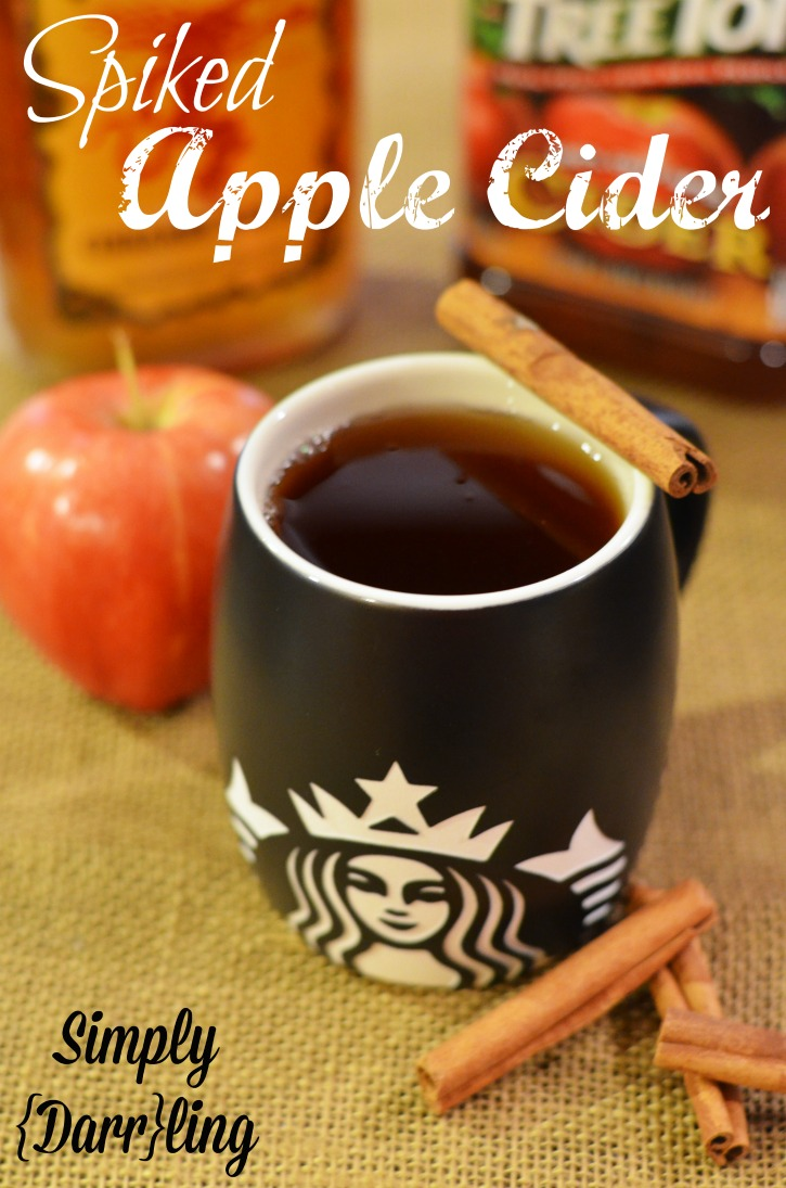 Spiked Apple Cider - Simply {Darr}ling