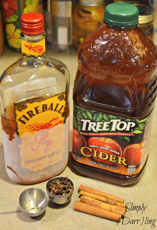 Spiked Apple Cider Ingredients