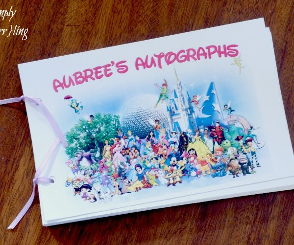 Disney World Autograph Book