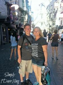 Brad & Kendra Diagon Alley