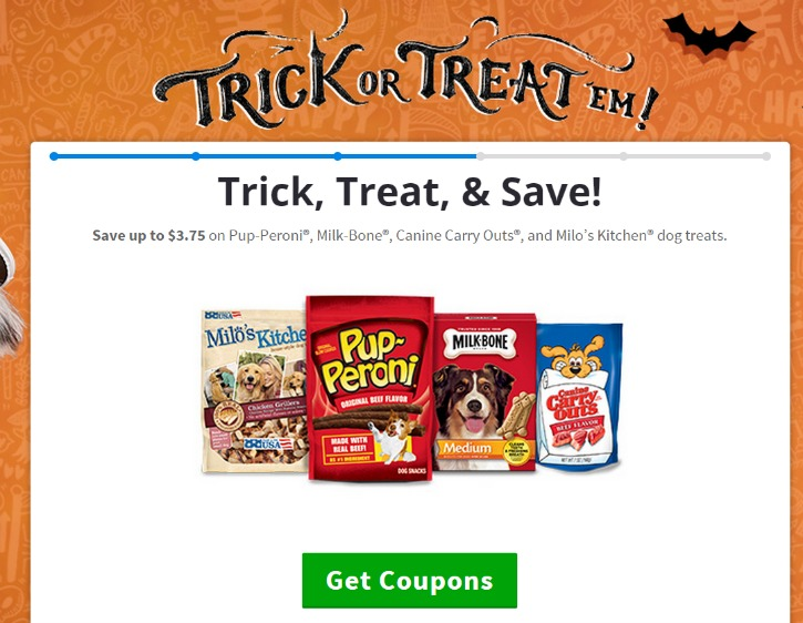Halloween Treat Coupon #shop