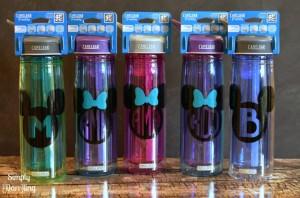 Personalized Disney Water bottles