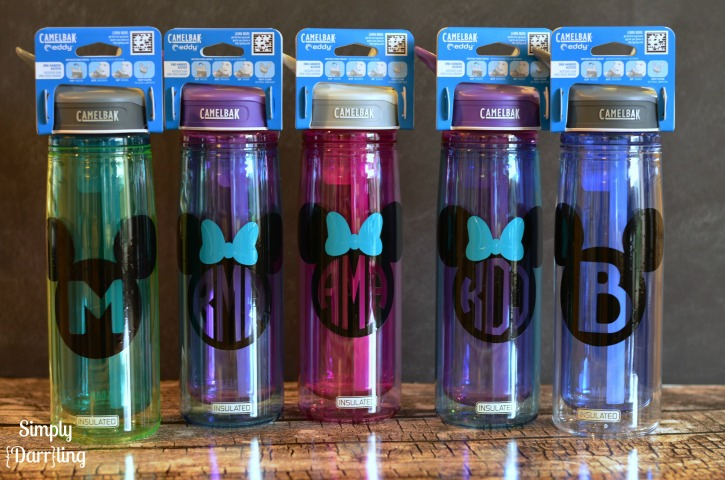 Personalized Disney Water Bottles Simply Darr Ling