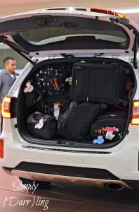 Fitting Luggage In Kia Sorento