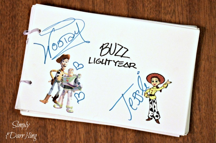 Toy Story Autographs Disney World