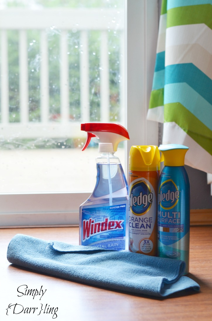 Windex and Pledge Products