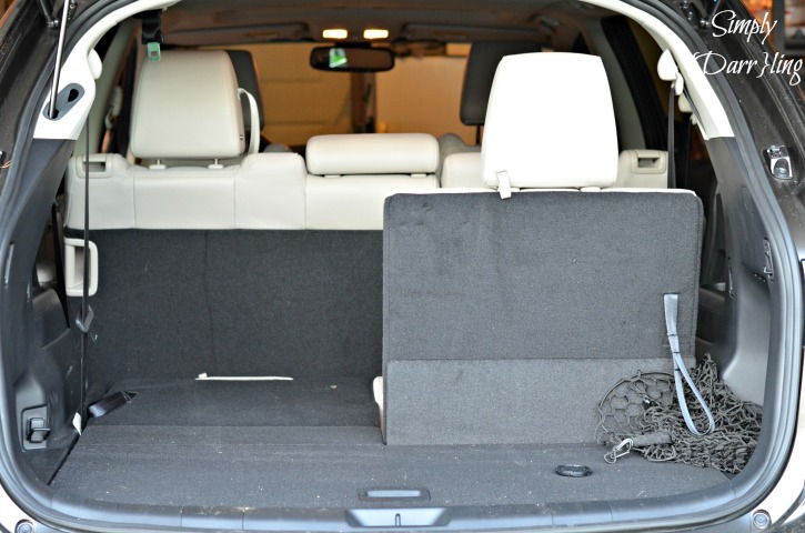Rear Seating Configuration