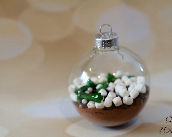 DIY Hot Cocoa Ornaments