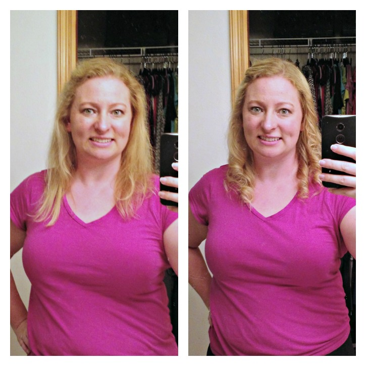 Before and After Curling