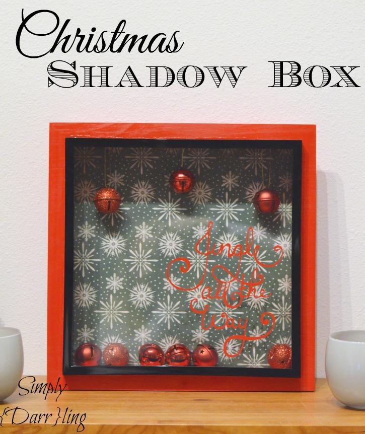 Christmas Shadow Box Simply Darr Ling