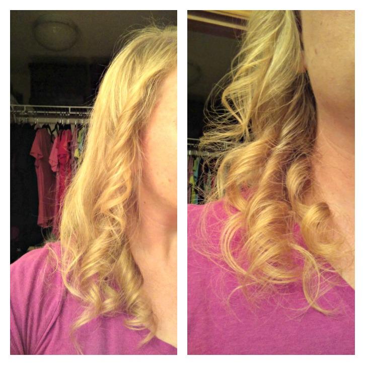 Closeup of Curls