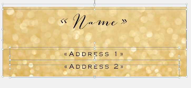 Mail Merge Label