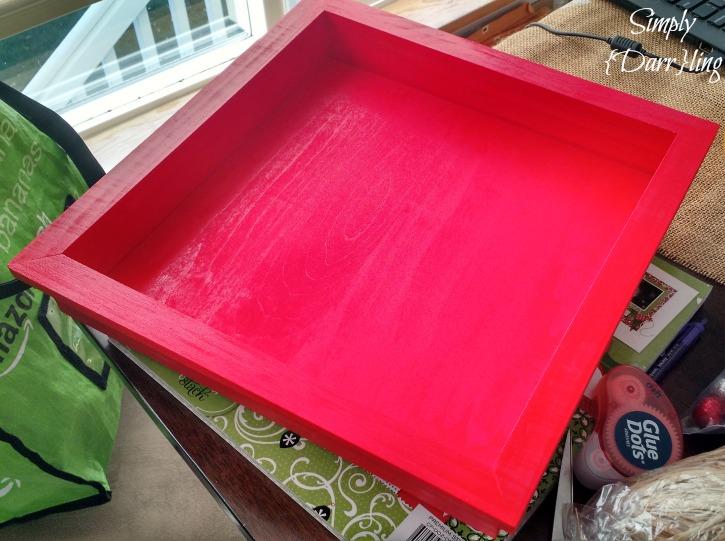 Painted Shadow Box