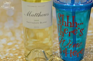 Shhh…There's Wine In Here Tumbler