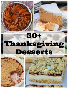 30+ Thanksgiving Desserts