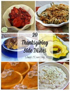 20 Thanksgiving Side Dishes