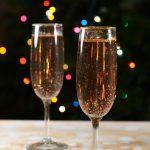 Glitter Champagne Cocktail