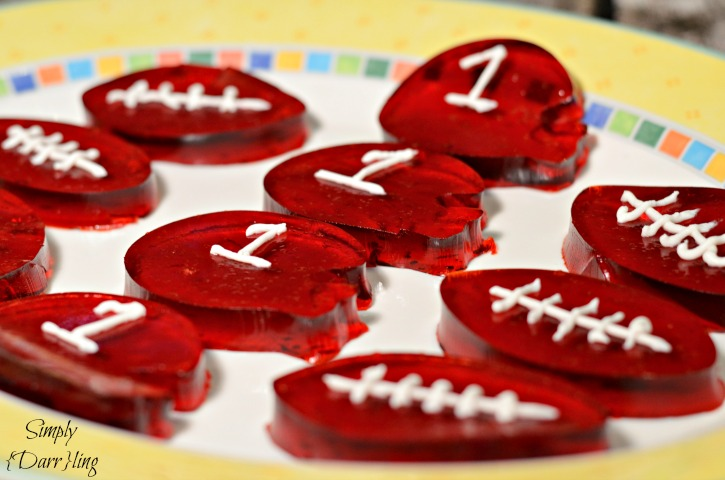 Dr Pepper Football Jello