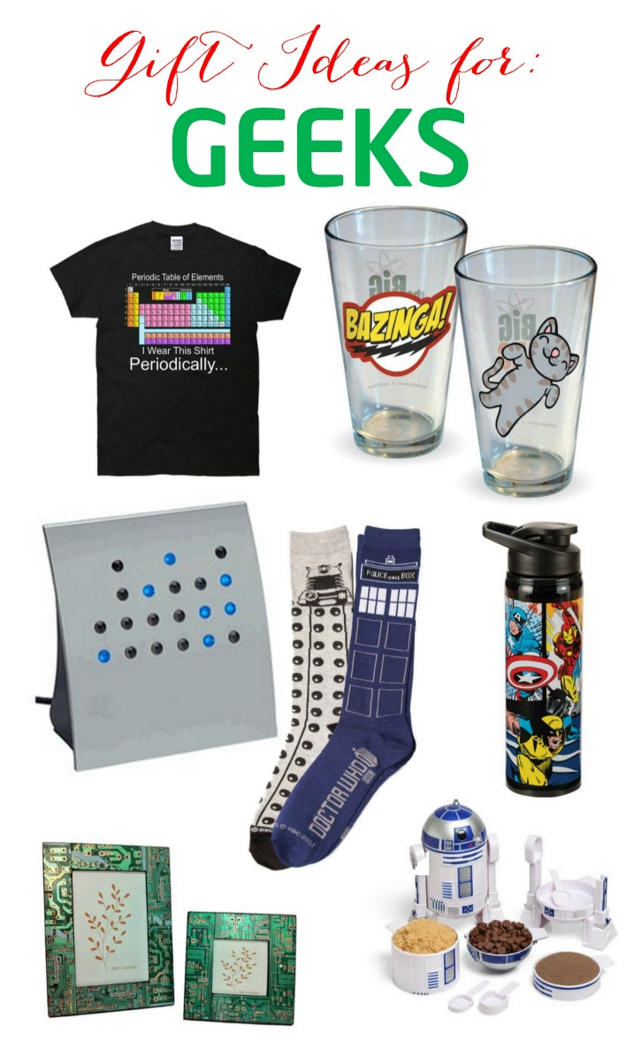 Gift Ideas for Geeks
